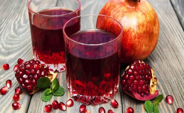 Pomegranate Juice | foods rich in Vitamin K