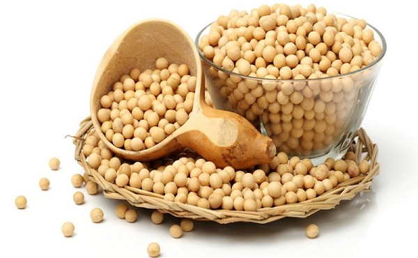 Soybeans | foods rich in Vitamin K